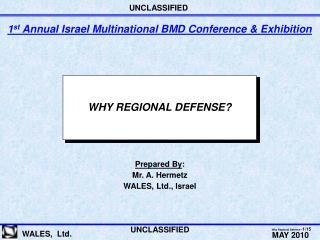 WHY REGIONAL DEFENSE?