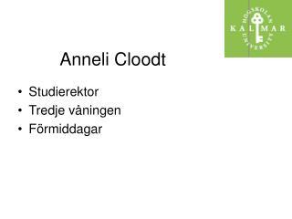 Anneli Cloodt