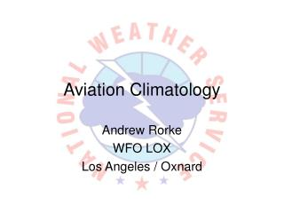 Aviation Climatology