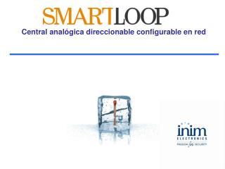 Central analógica direccionable configurable en red