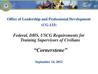Office of Leadership and Professional Development  (CG-133 )