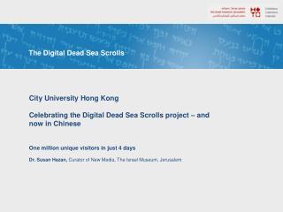 The Digital Dead Sea Scrolls