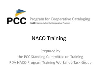 NACO Training