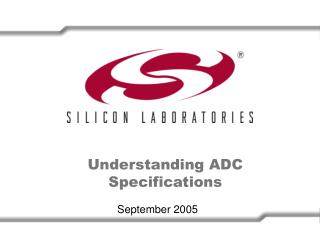 Understanding ADC Specifications