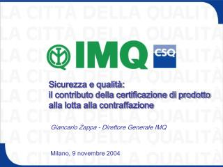 Milano, 9 novembre 2004