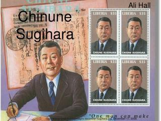 Chinune Sugihara