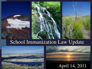 School Immunization Law Update