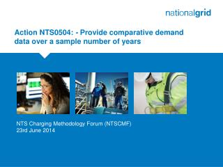 Action NTS0504:  -  Provide comparative demand data over a sample number of years