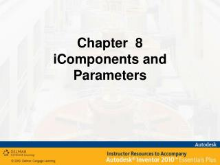 Chapter  8 iComponents  and Parameters