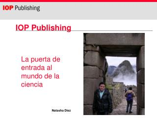 IOP Publishing