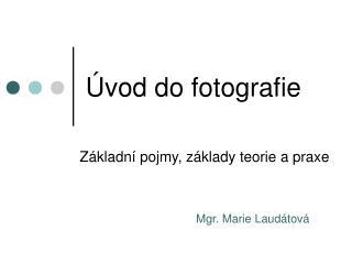 �vod do fotografie