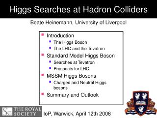 Higgs Searches at Hadron Colliders