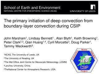 The primary initiation of deep convection from boundary-layer convection during CSIP