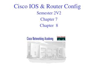 Cisco IOS & Router Config