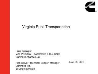 Virginia Pupil Transportation