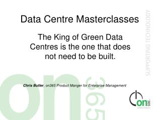 Data Centre Masterclasses