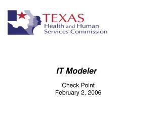 IT Modeler
