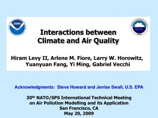 Interactions between  Climate and Air Quality