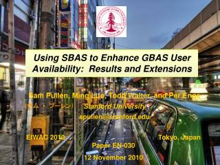 Using SBAS to Enhance GBAS User Availability:  Results and Extensions