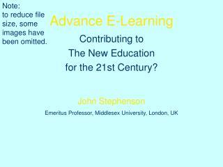 Advance E-Learning