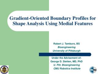 Gradient-Oriented Boundary Profiles for Shape Analysis Using Medial Features