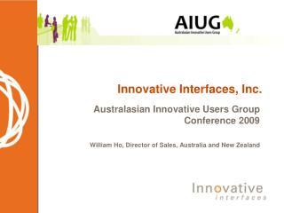 Innovative Interfaces, Inc.