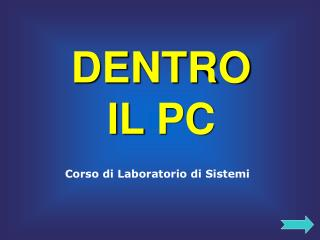 DENTRO  IL PC