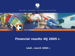 Łódź ,  march  2006 r.