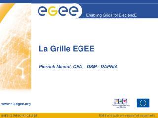 La Grille EGEE