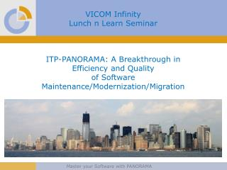 VICOM Infinity  Lunch n Learn Seminar