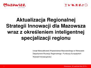 Urz?d Marsza?kowski Wojew�dztwa Mazowieckiego w Warszawie