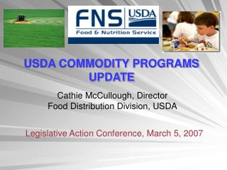 USDA COMMODITY PROGRAMS UPDATE