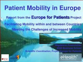 Patient Mobility in Europe