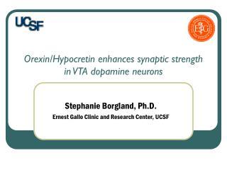 Orexin/Hypocretin enhances synaptic strength in VTA dopamine neurons
