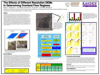 The Effects of Different Resolution DEMs  in Determining Overland Flow Regimes