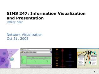 SIMS 247: Information Visualization and Presentation jeffrey heer