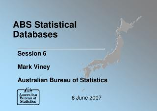 ABS Statistical Databases