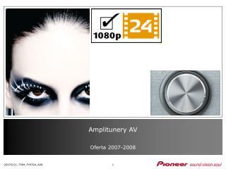 Amplitunery AV