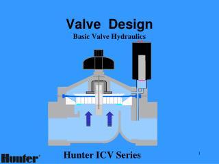 Valve  Design Basic Valve Hydraulics