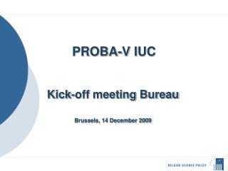 PROBA-V IUC