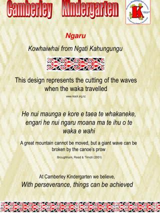 Ngaru  Kowhaiwhai from Ngati Kahungungu