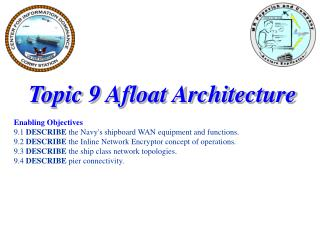 Topic 9 Afloat Architecture Enabling Objectives