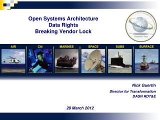 Open Systems Architecture Data Rights Breaking Vendor Lock