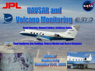 UAVSAR and Volcano Monitoring