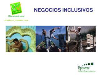 NEGOCIOS INCLUSIVOS