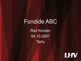 Fondide ABC