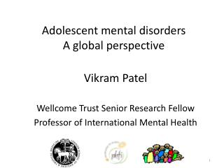Adolescent mental disorders A global perspective