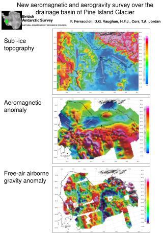 Sub -ice topography