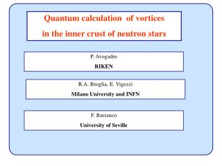 Quantum calculation  of vortices  in the inner crust of neutron stars