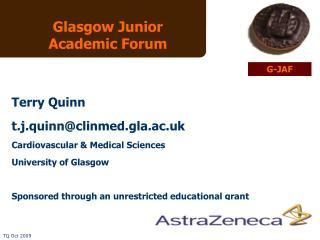 Glasgow Junior Academic Forum